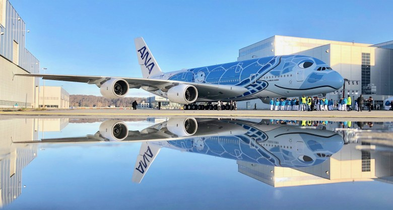 NH A380 Reflection (Airbus)