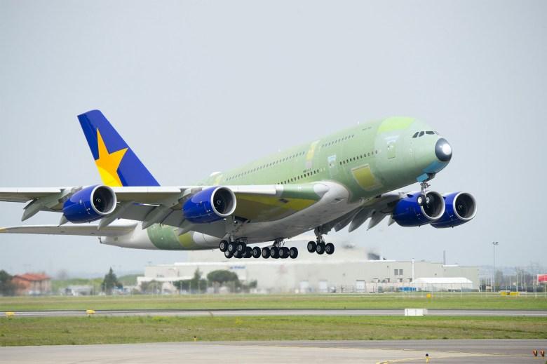 Skymark A380 First Flight (Airbus).jpg