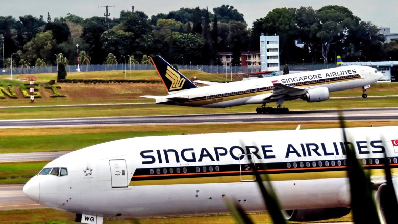 SQ 777s at Changi (Ferry Octavian)