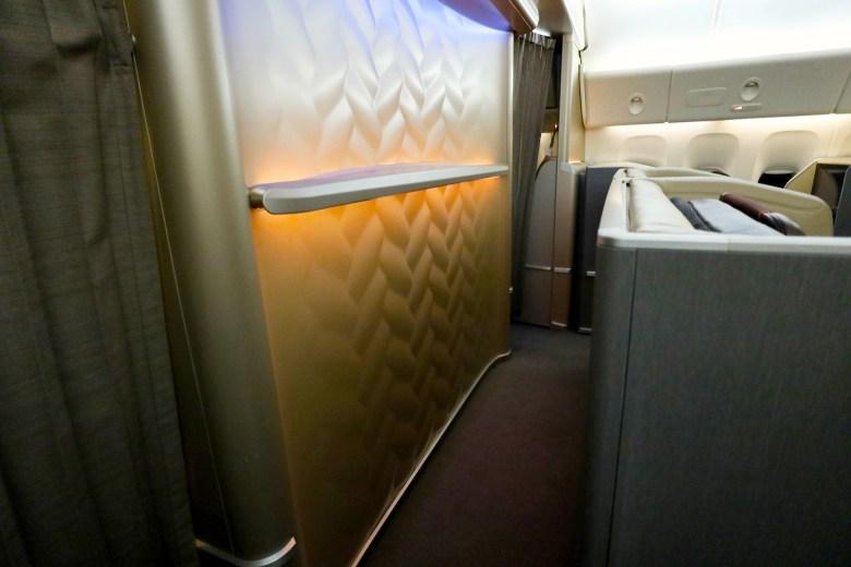 Space Behind Seats