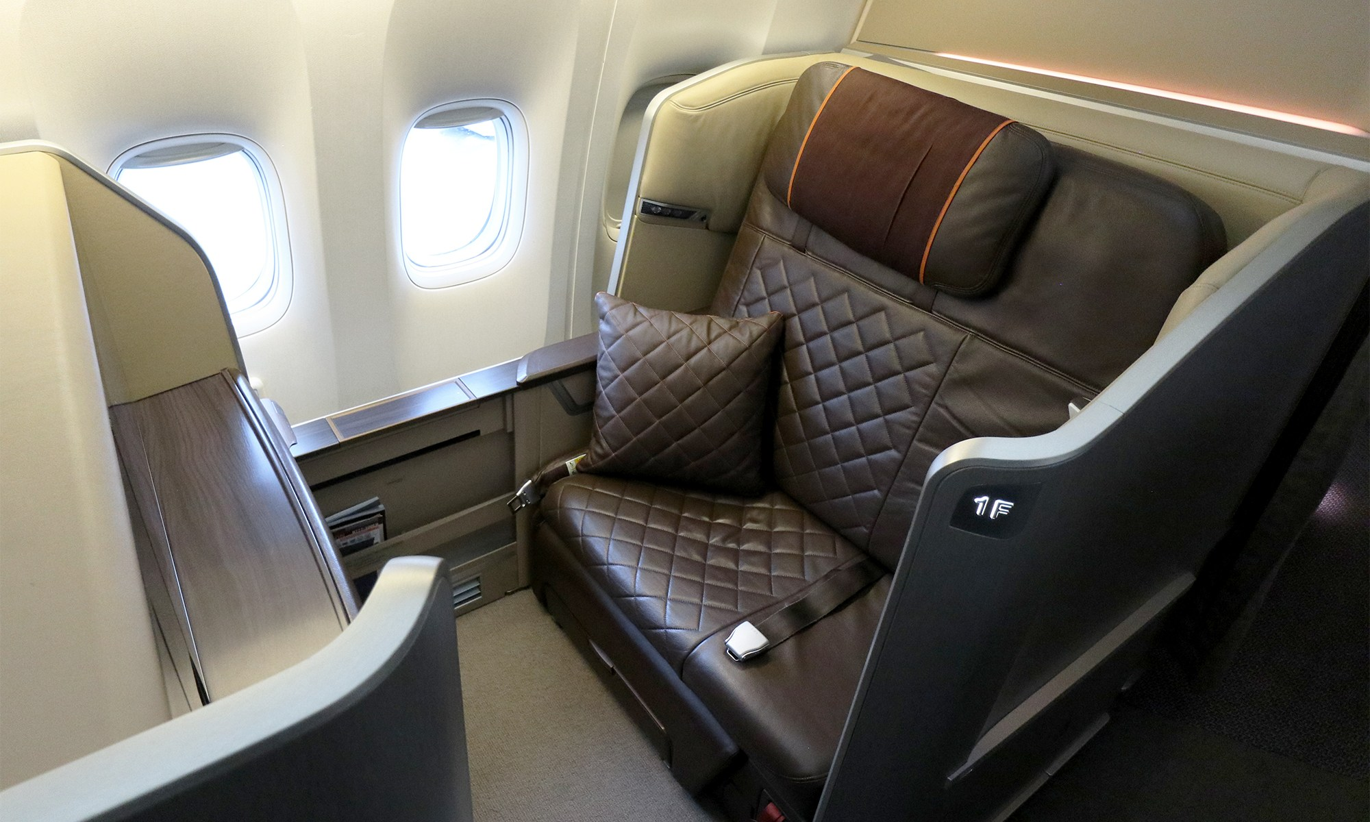 Review: Singapore Airlines 777-300ER First Class – Mainly Miles