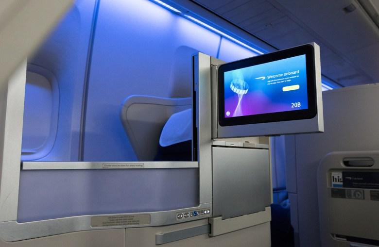 BA Club World Facing (British Airways)