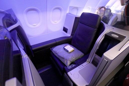 Seat 2F. (Photo: MainlyMiles)