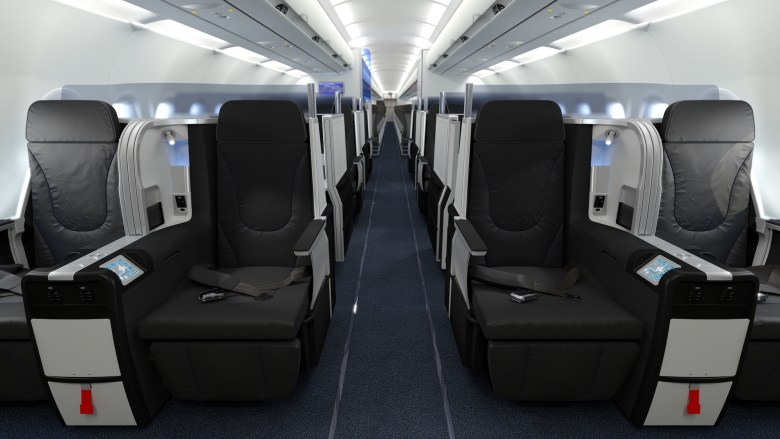 B6 Mint Class Front (JetBlue)