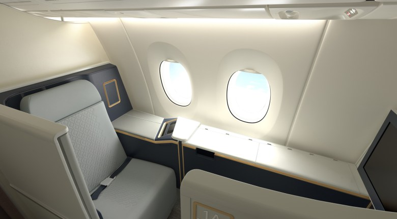 MH A350 F Seat 1A (Malaysia Airlines).jpg