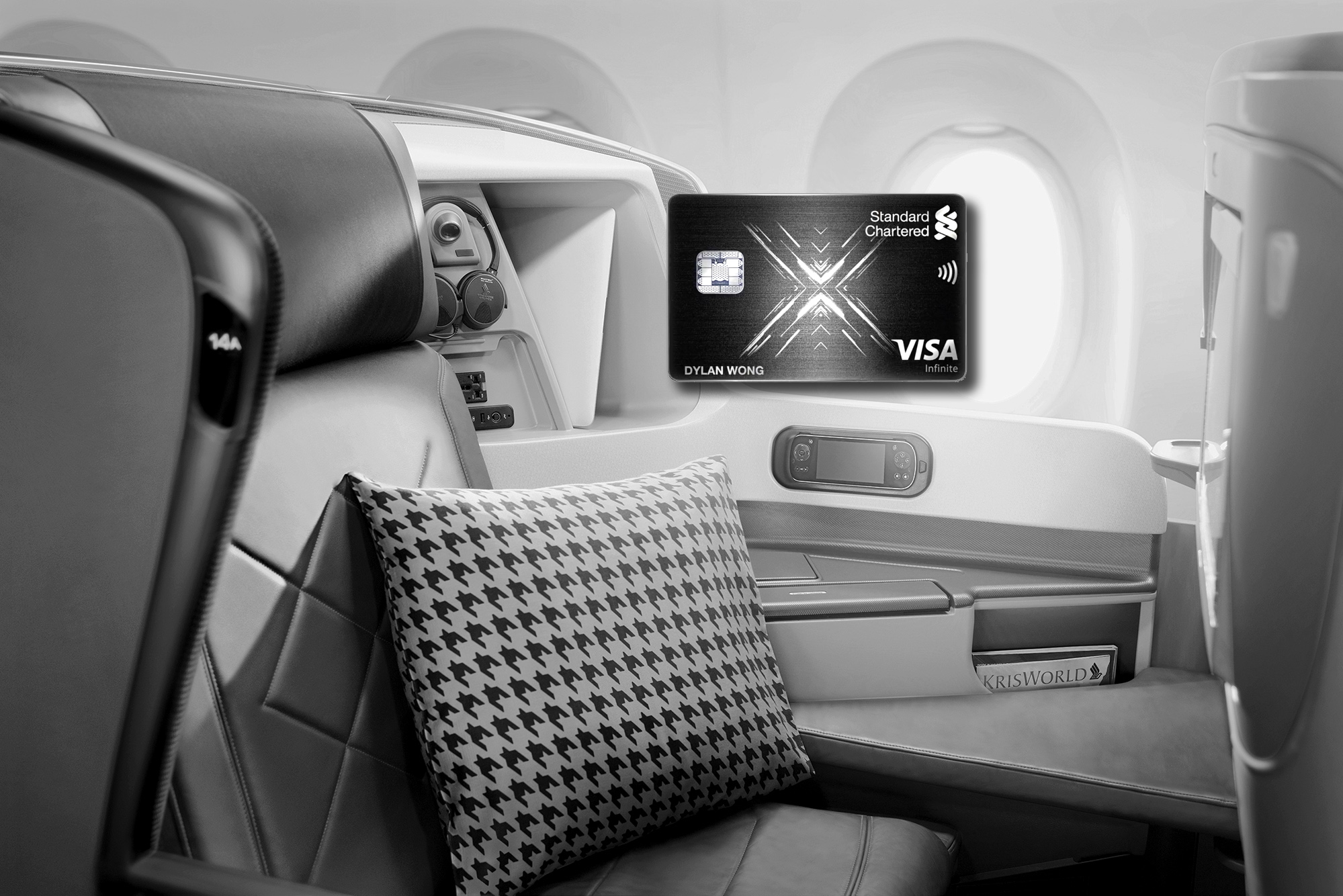 100,000 miles sign-up bonus with the new Standard Chartered X Card
