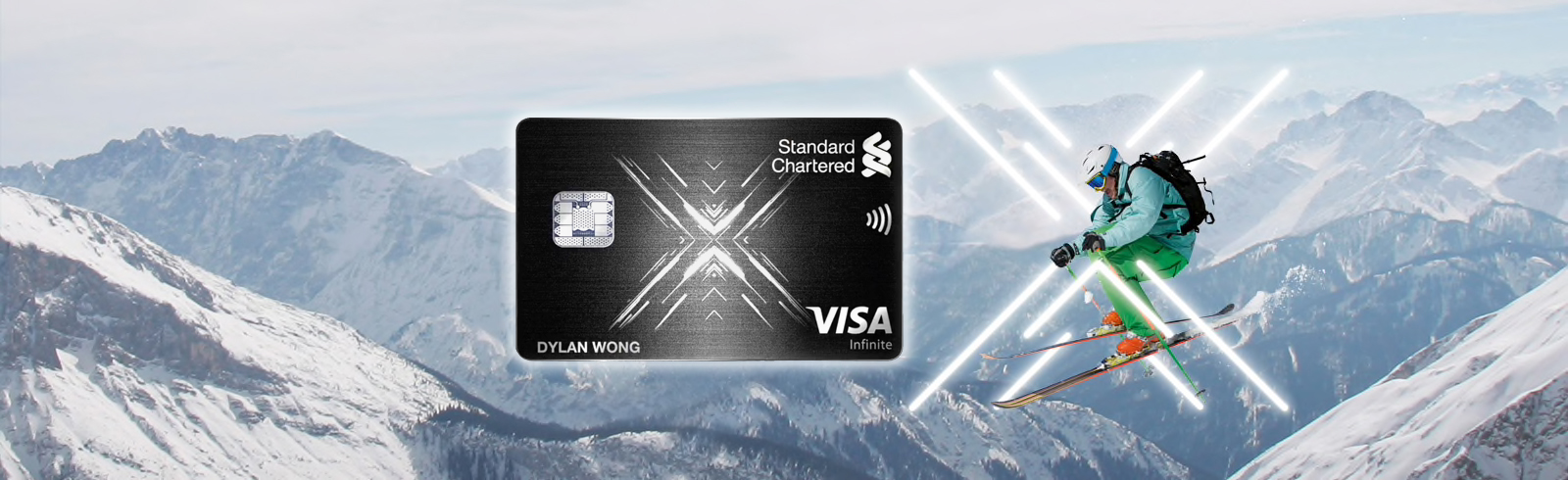 New 60,000 miles sign-up bonus for the Standard Chartered X Card