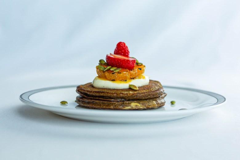 Spiced Buckwheat and Pumpkin Pancakes