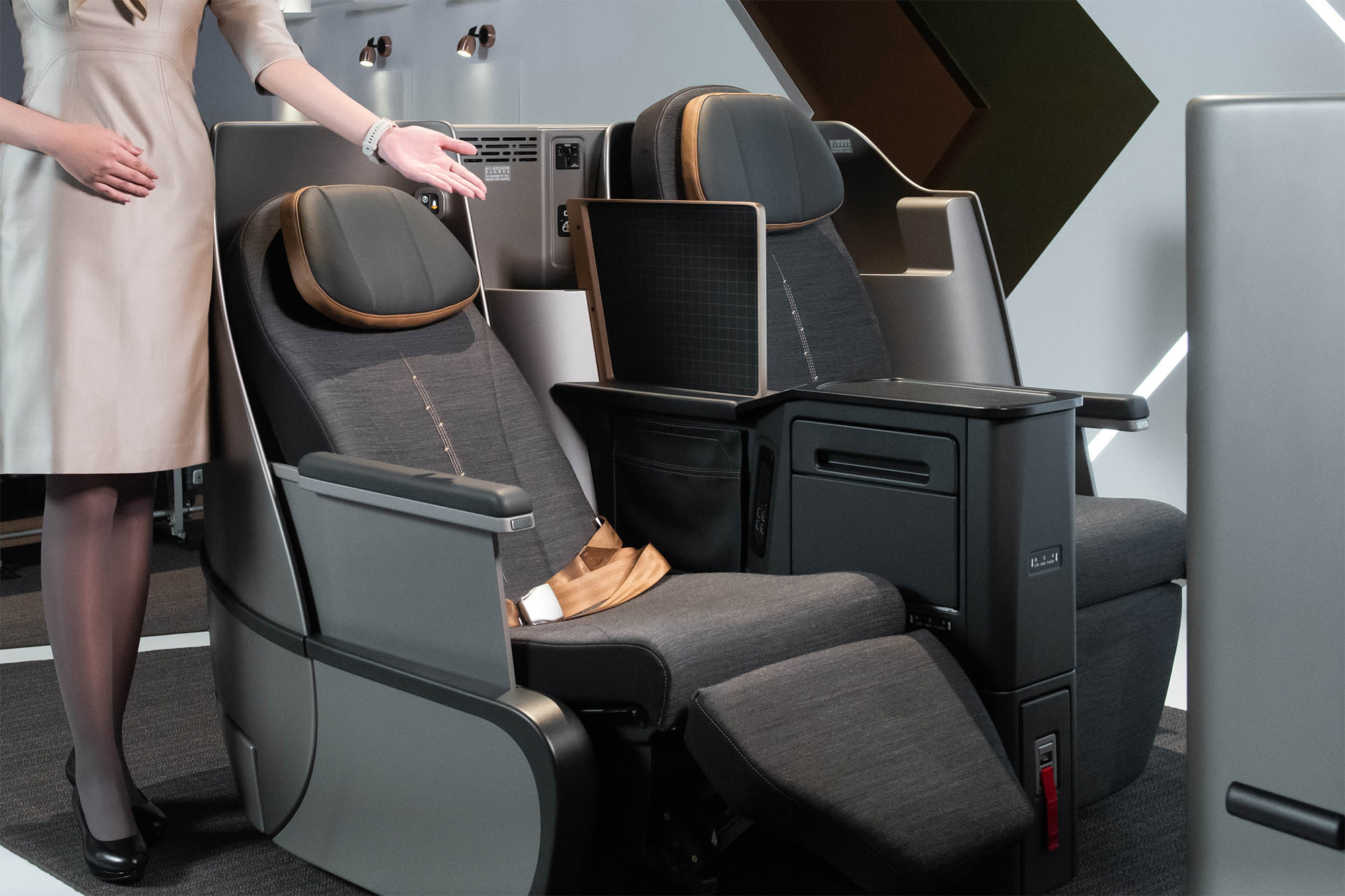 Taiwan's full-service startup airline Starlux reveals flat-bed Business Class