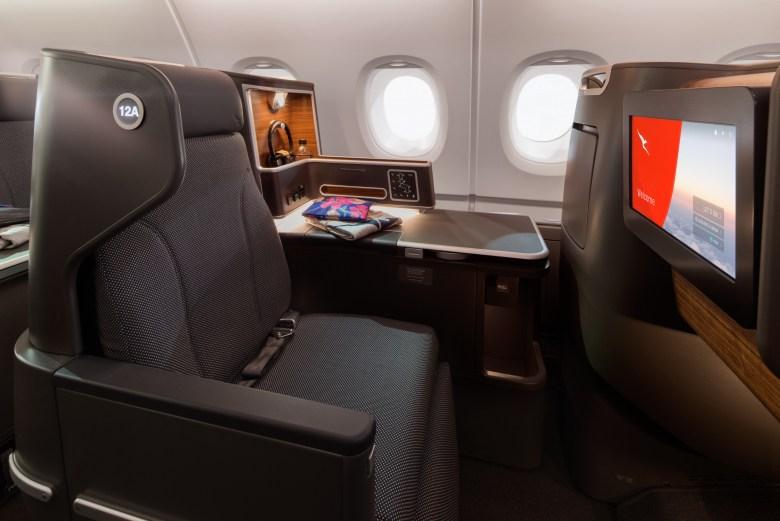 Qantas A380 Business 1