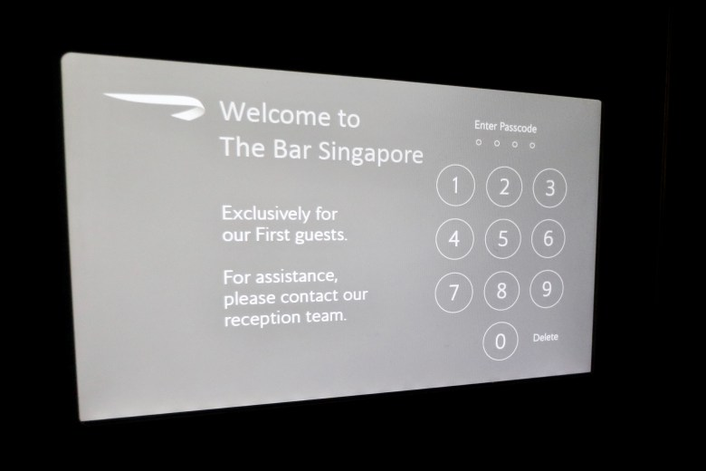 Bar Passcode