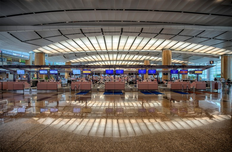 Changi T2 Check-in (CAG)