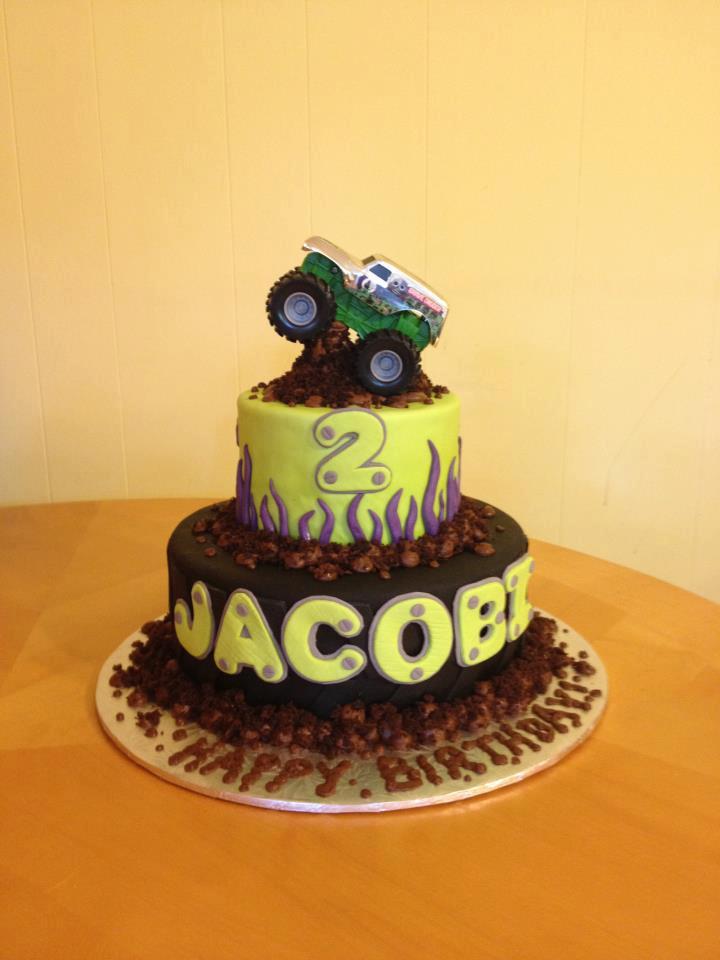 monster jam cake  Main Made Custom Cakes