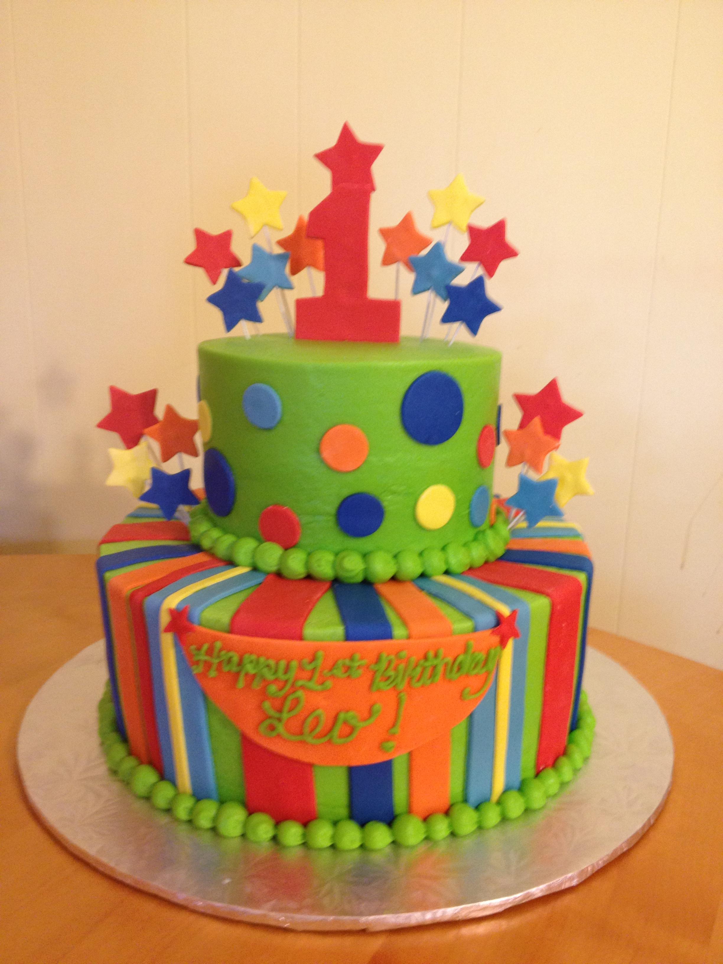 Polka Dot Boy 1st Birthday