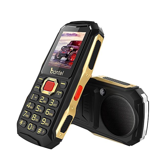 Bontel 9000-1 77 Inch 4000 MAh Power Bank Phone- Black – MainMarket Online