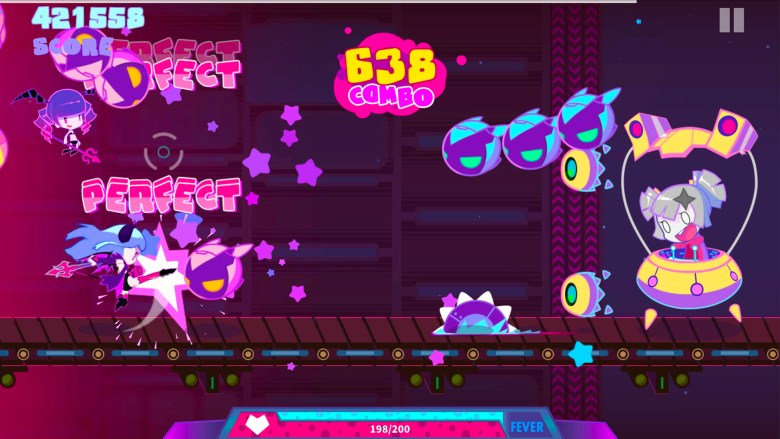 Muse Dash Review: Colorful, high-energy action rhythm fun