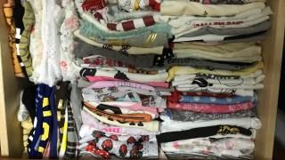 子供服を整理整頓✨リオンは育ちすぎ(笑)