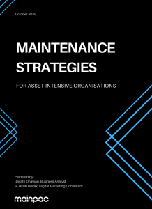 maintenance strategies guidebook