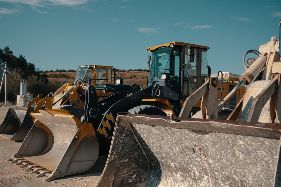 Example of heavy machinery that Mainpac can manage