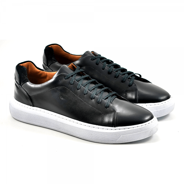 Sapato Masculino Main Shoes Berlin Preto