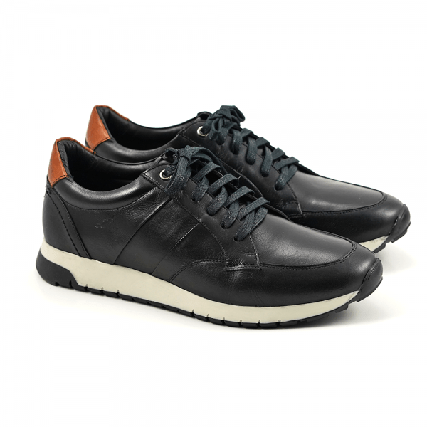 Sapato Masculino Main Shoes Jogger Preto