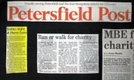 charity run and sixties night