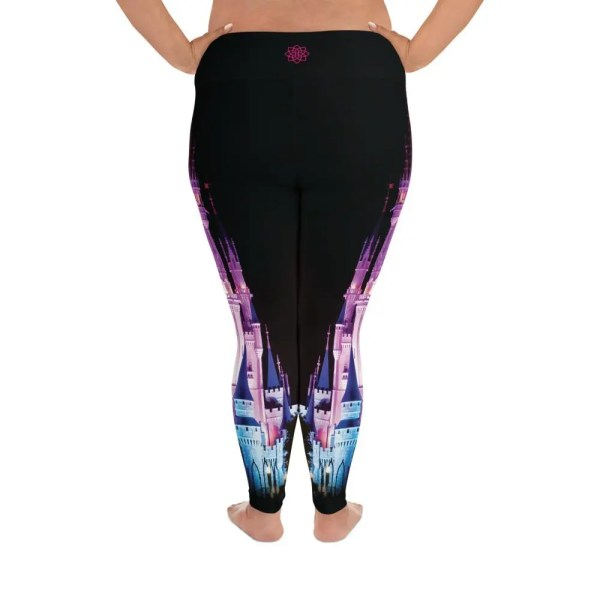 Magical Castle | Curvy Leggings  | Made in the USA