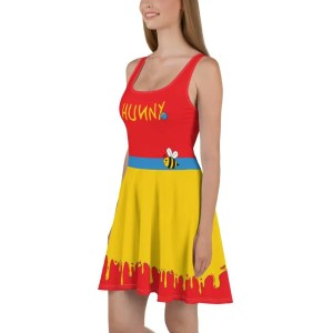 Hunny   Pooh Inspired Dress