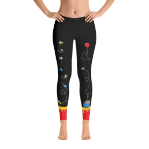 Hundred Acre Hunny | Leggings | Made in USA