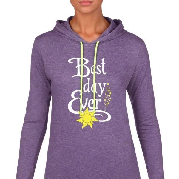 Best-day-ever-ladies-lightweight-hoodie-purple