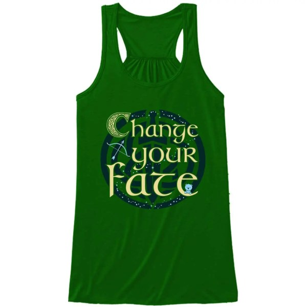 Change-Your-Fate-Ladies-Flowy-Tank-Top-Kelly-Green