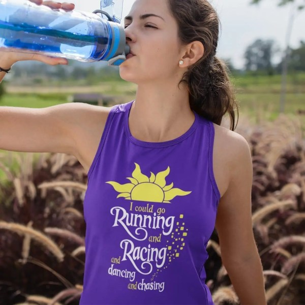I-could-go-running-ladies-tank-top-purple-model