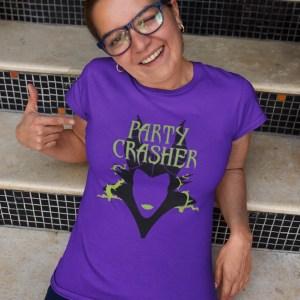 party-crasher-unisex-cotton-poly-crew-purple-model