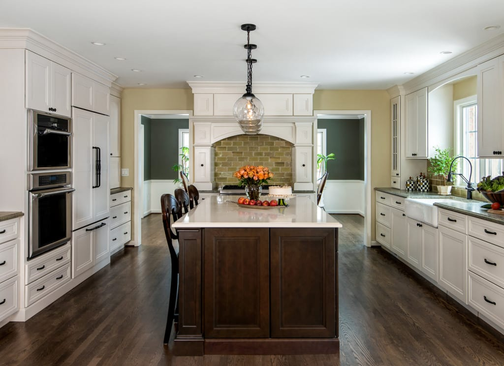 Beverly Hills MI First Floor Colonial Remodel  MainStreet Design Build