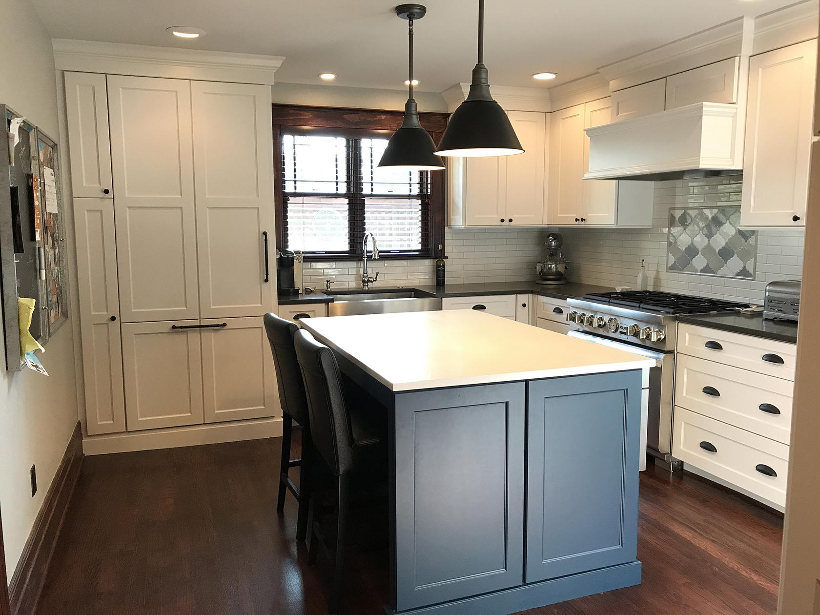 kitchen remodeling birmingham mi cabinet door replacement lowes 2 phase remodel mainstreet design build