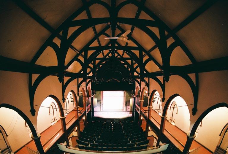 Chocolate-Church-Arts-Center-inside-Bath-Maine