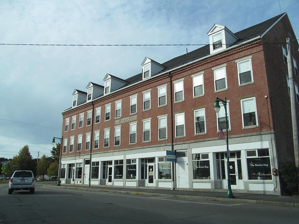 Rankin Block in Rockland Maine