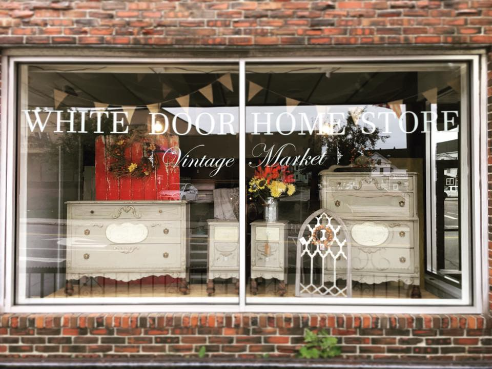 White Door Home Store in downtown Biddeford, Maine