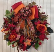 Wreaths by Debbie Griffith.