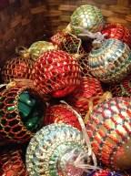 Holiday ornaments by Jennifer Barber.