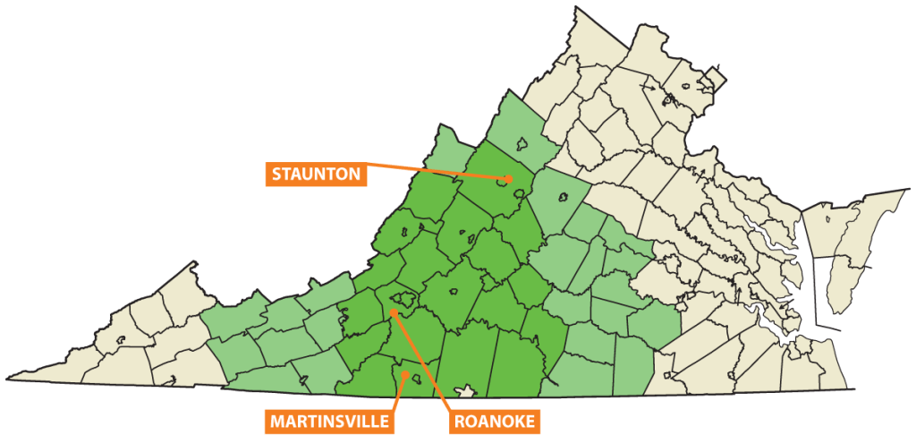mainstreetsolar_va_map