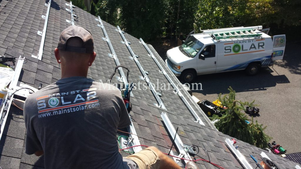 solar panel racking Virginia