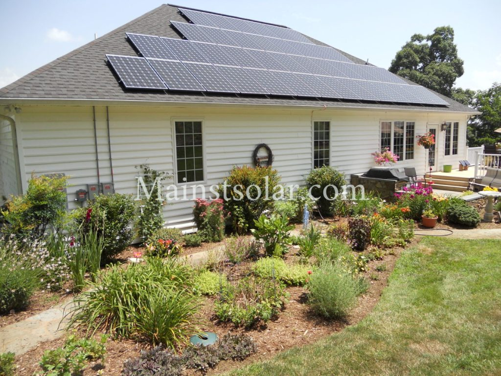 beautiful solar roof Virginia