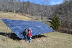 Solar Brings Retired Couple Together Over Power Tools in Galax