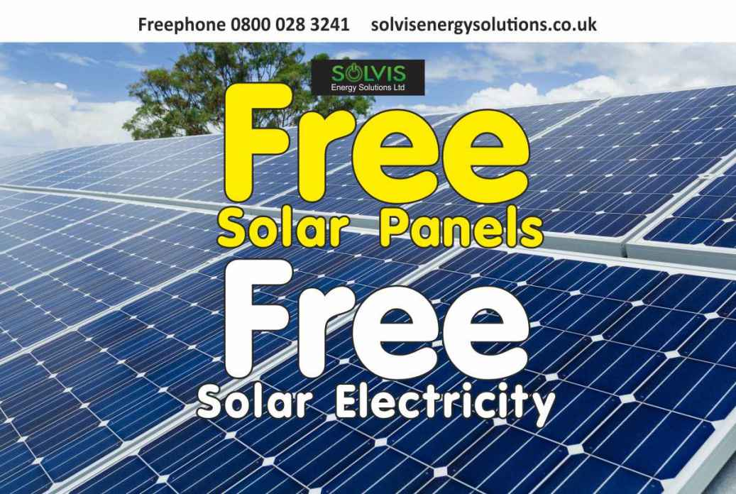 free solar panels free electricity main street solar