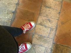 The classic Converse sneaker.