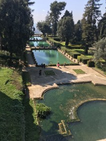 Fountains at Villa d'Este.