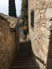 The town of Assisi.