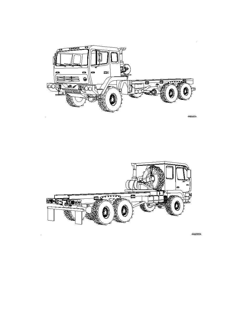 Figure 1-11. M1096 Truck, Chassis: 5-Ton, 6x6, LWB