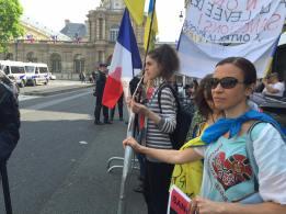 Manifestation Luxembourg article Bernard Grua